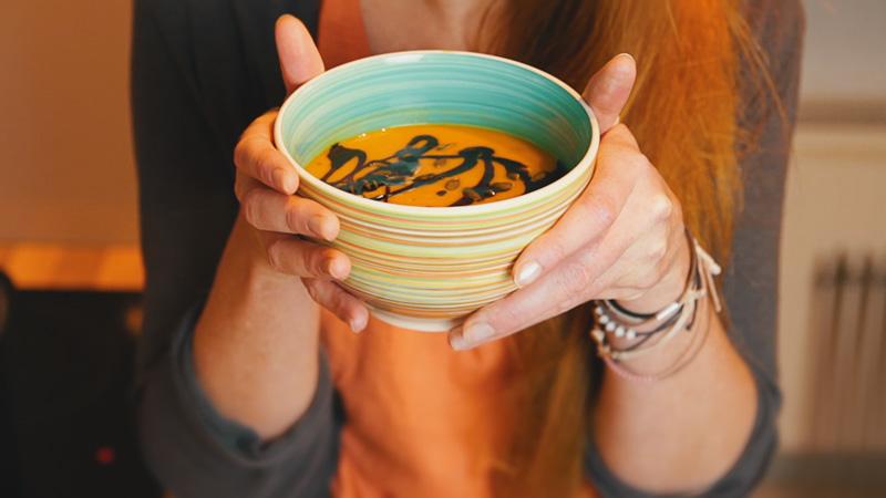 Kürbissuppe – Vitaminreich und stärkend