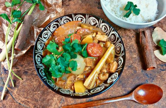 Massaman Curry vegan kohlundkarma