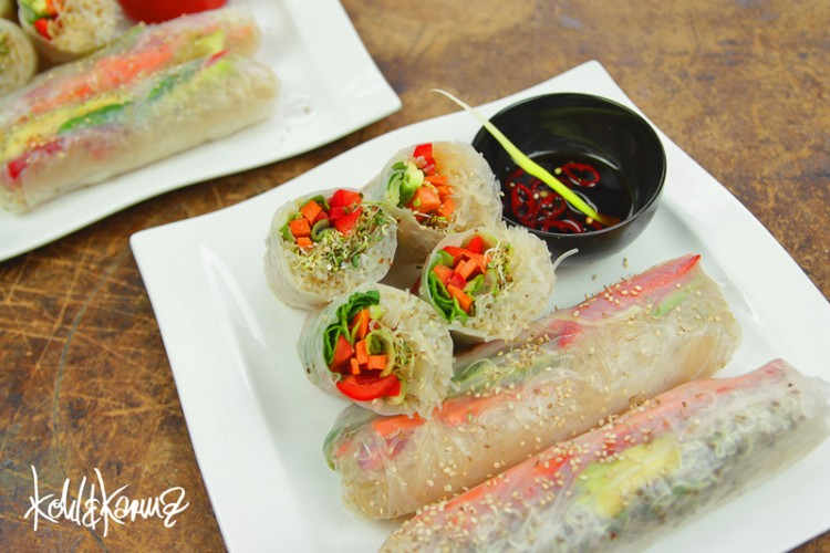 Summer Rolls vegan