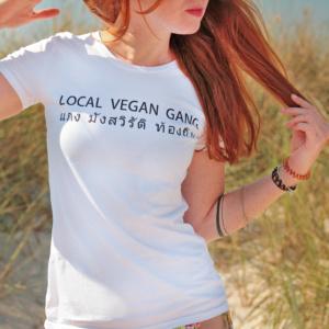 LOCAL VEGAN GANG shirt | kohlundkarma