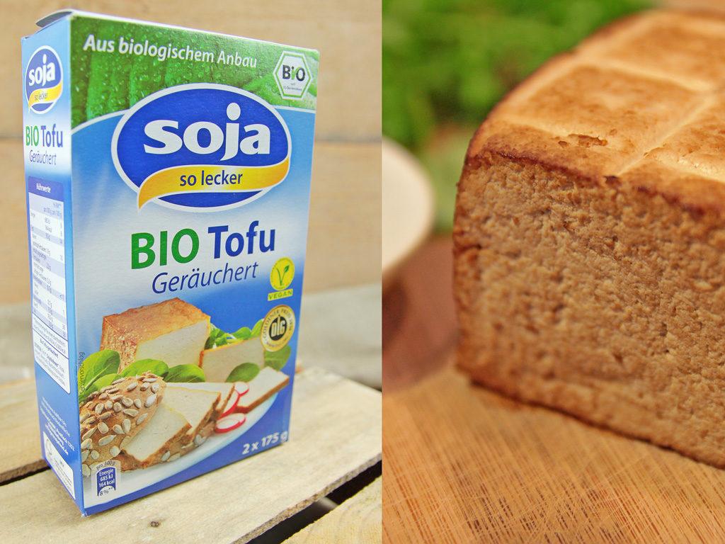 Räucher Tofu Bio Firma SOJA Food GmbH - kohl und karma