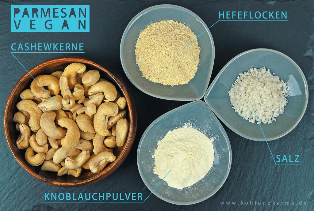 cashew parmesan rezept veganer k se kohlundkarma. Black Bedroom Furniture Sets. Home Design Ideas