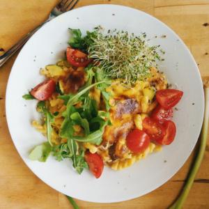 Teller Käsesauce für Gratin, Nachos, Mac n Cheese - veganer-Käse - kohlundkarma
