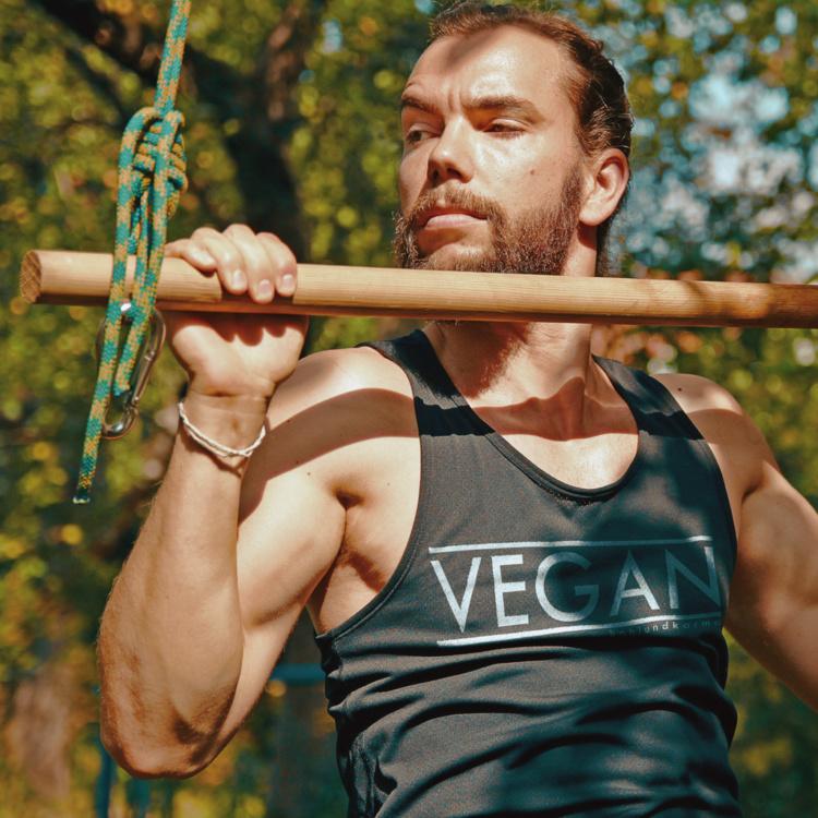 vegan Muskelshirt Tank Top | kohlundkarma