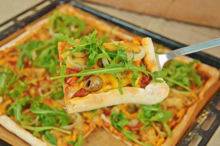 veganer Pizzateig - Grundrezept