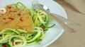 Zucchini Spaghetti: Zoodles