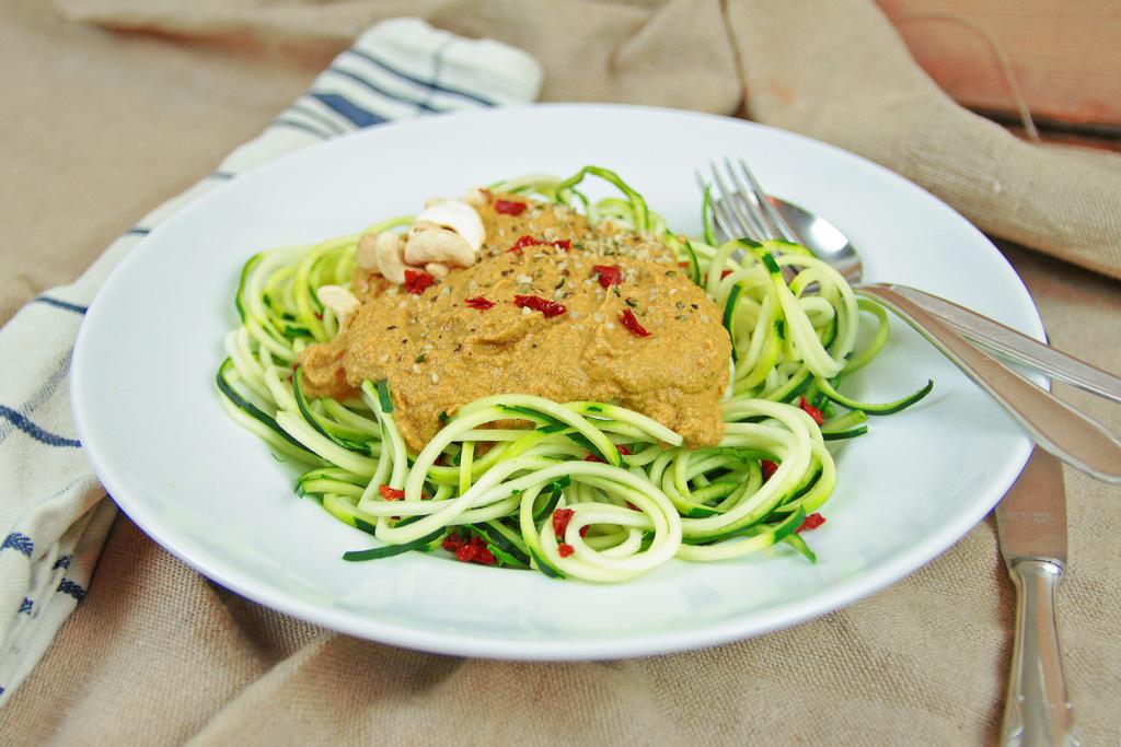 Zucchini Spaghetti Zoodles