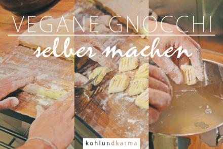vegane Gnocchi selber machen - Grundrezept | kohlundkarma