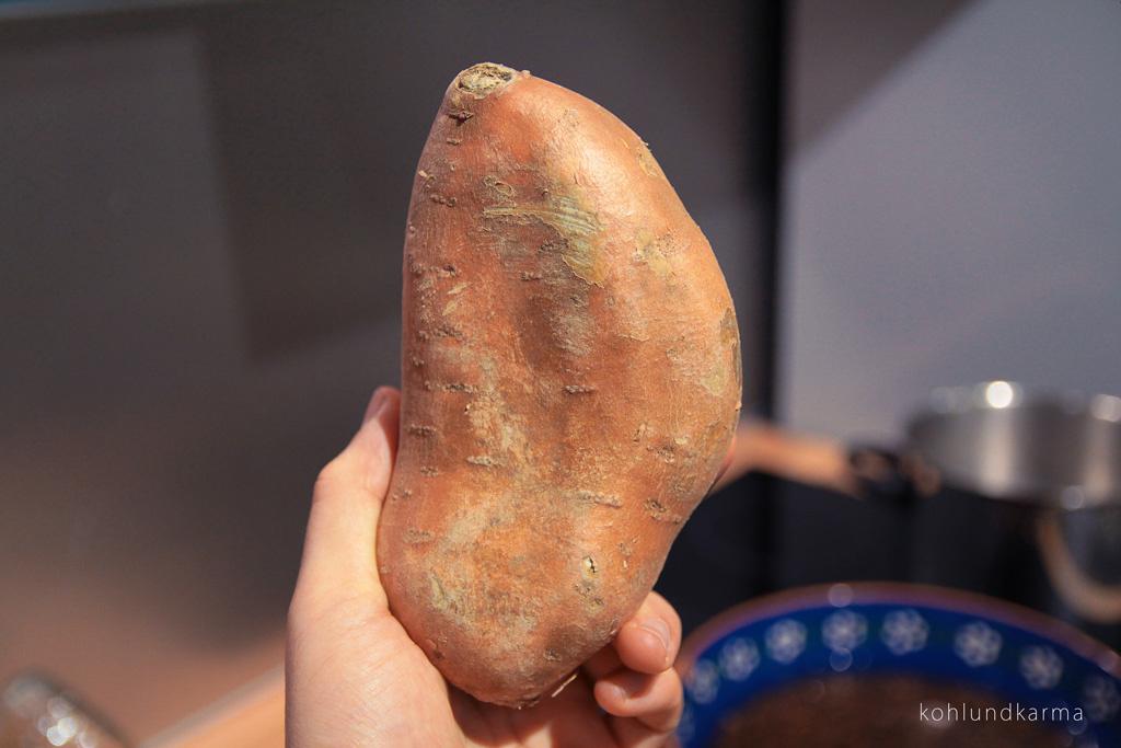 Linsen Süßkartoffel Eintopf - Süßkartoffel | kohlundkarma