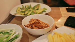 Veganes Sushi Rezept - Zutaten