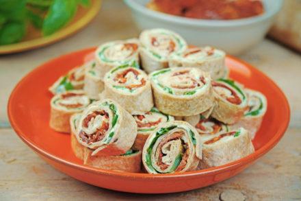Mini Wraps Rollen - vegan Fingerfood | kohlundkarma