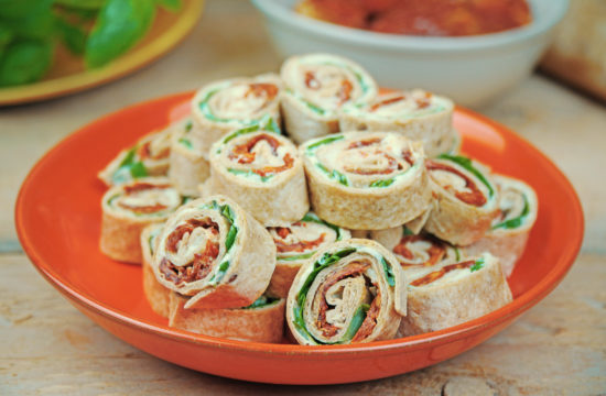 Mini Wraps Rollen - vegan Fingerfood | kohlundkarma