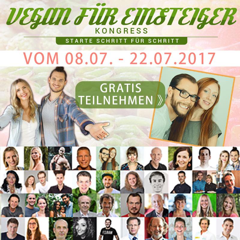 vegan für Einsteiger Kongress 2017 - kohlundkarma dani und sebastian kohl und karma