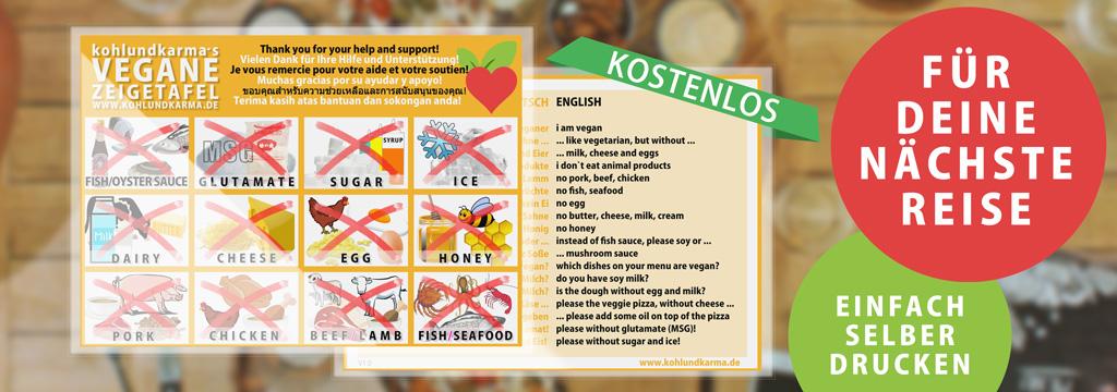 vegane Zeigetafel Banner - kohlundkarma - kohl und karma