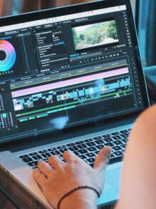 Dienstleistung Videoschnitt