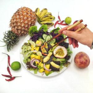 vegan auf Reisen vegane Zeigetafeln | kohlundkarma