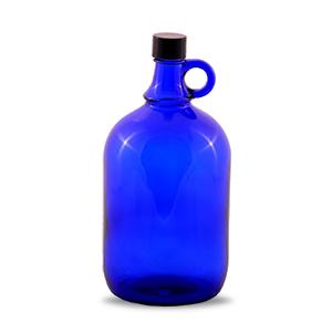 Henkelflasche blau 2 Liter gefiltertes Wasser Osmose vegan Empfehlung kohlunkarma